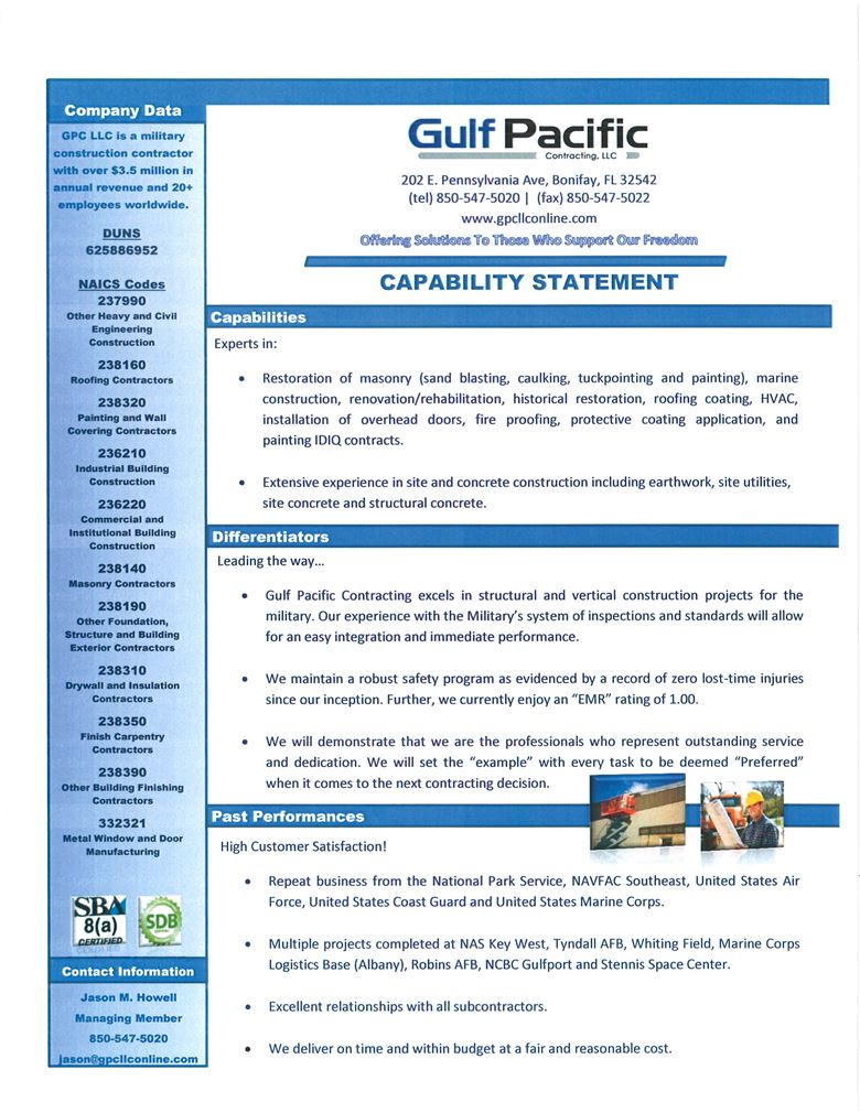 Business Capability Statement Pictures To Pin On Pinterest